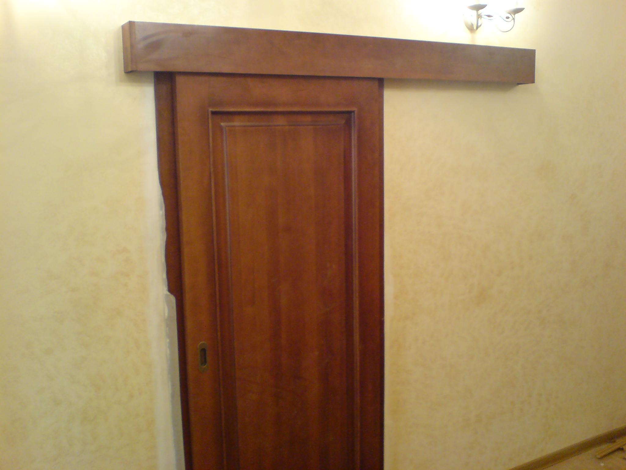 Как сделать своими руками межкомнатную дверь-купе