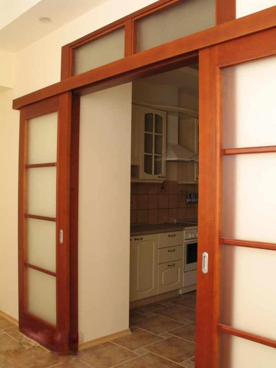 Направление открывания межкомнатных дверей..