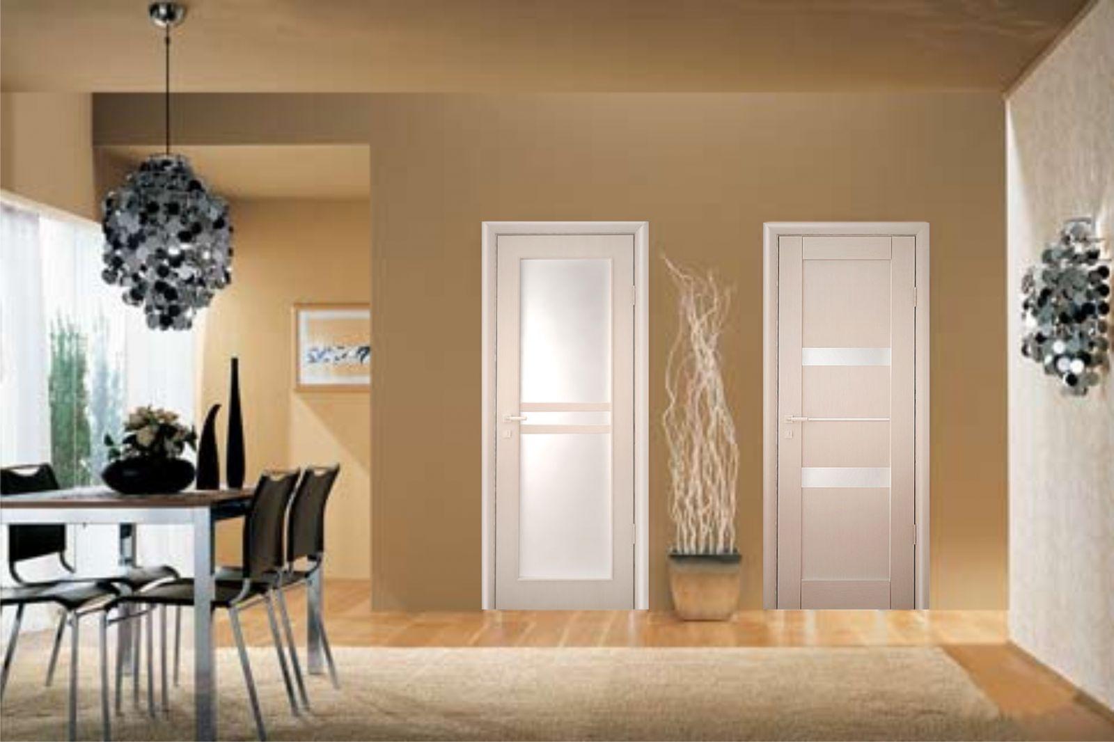 Межкомнатные двери и интерьер.