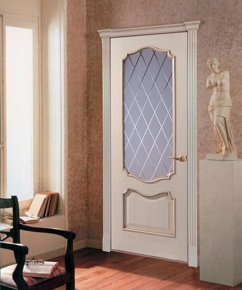 Двери слоновая кость фото в интерьере | 596x497