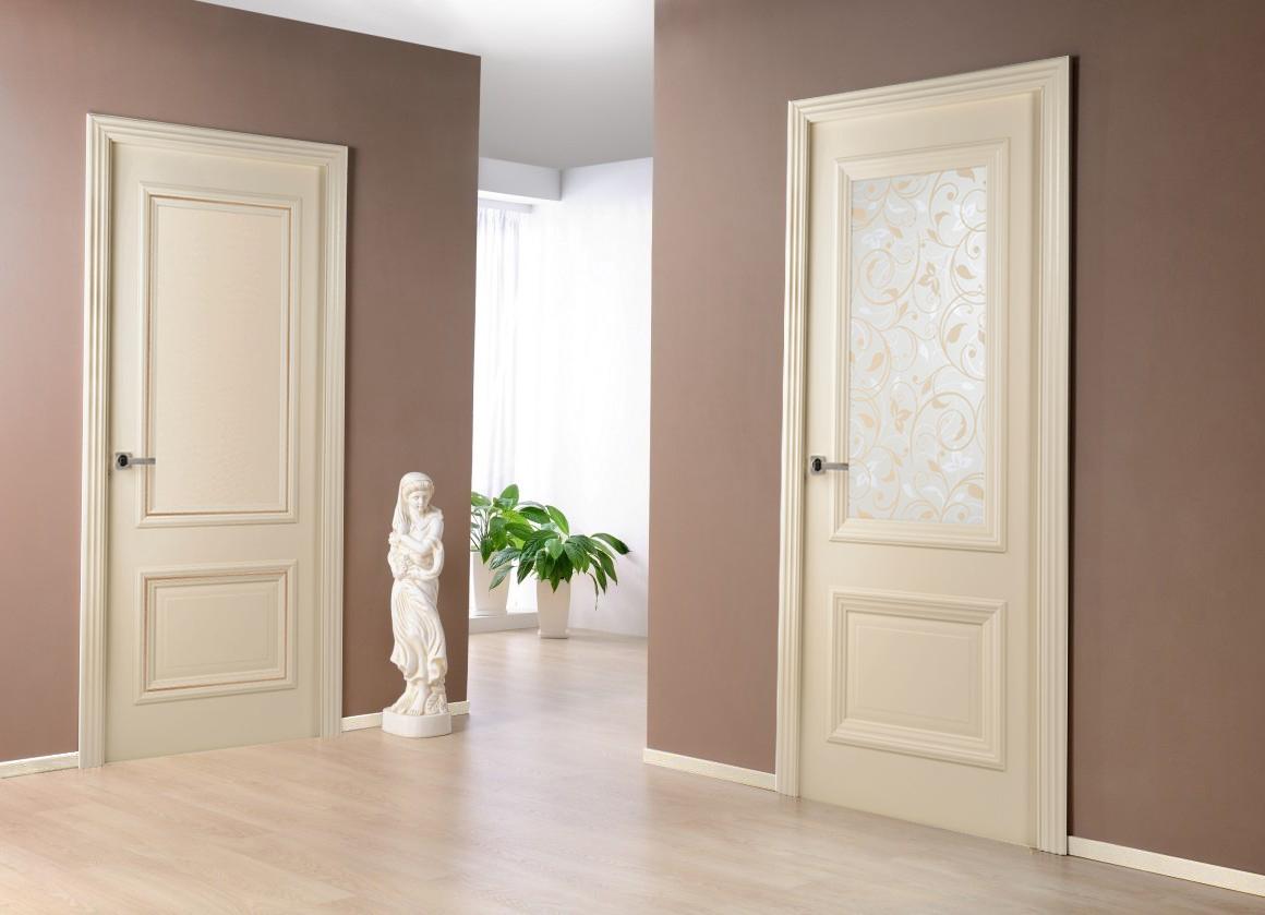 сочетание межкомнатных дверей и пола фото как другая