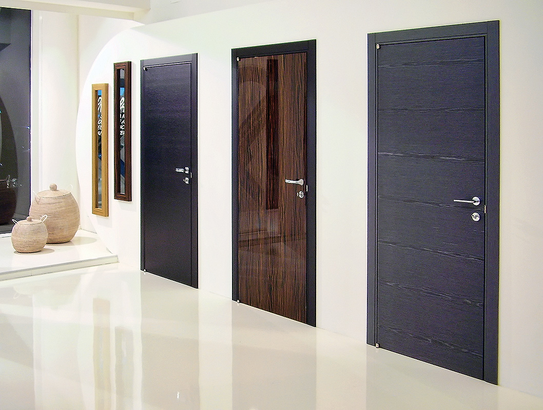 самые модные двери межкомнатные фото краски